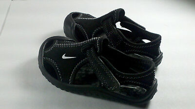Nike Toddler Boys Black Casual Slip-On Shoes Sandals Size 6C