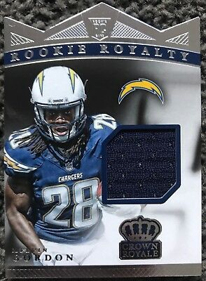 Melvin Gordon 2015 Panini Crown Royale Rookie Patch Card NFL
