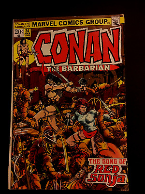 Conan the Barbarian # 24 1ST RED SONJA KEY ISSUE