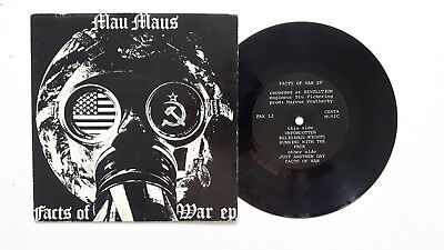 Mau Maus, Facts of War EP,  Label: Pax Records ‎– PA 1983