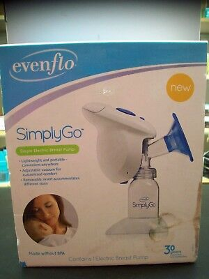 Evenflo SimplyGo Electric Breast Pump ~ FREE SHIPPING!