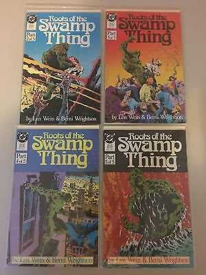 Lot Run of 4 Roots of the Swamp Thing (1986) #2 3 4 5 VF Very Fine