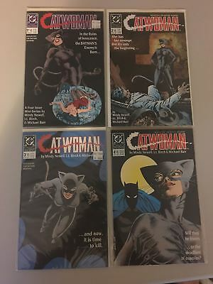 Complete Set of 4 Catwoman (1989 1st Series) #1 2 3 4 NM Near Mint