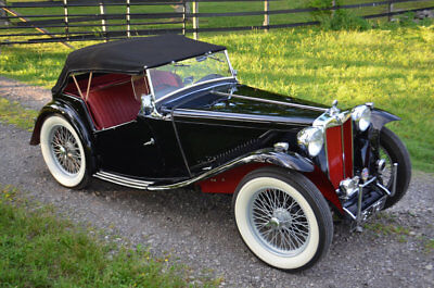1948 MG T-Series  tunning Pebble Beach Quality Restored MGTC