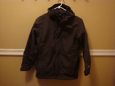 The North Face Hyvent Boys Size M (10/12) All Weather Hooded Jacket