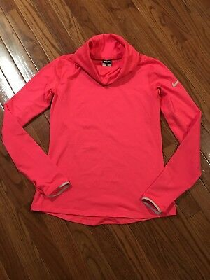 Women's Nike Pro Dri Fit Hyperwarm Infinity Training Top Medium