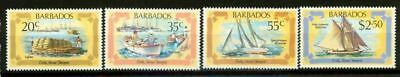 Barbados 1982 SG 701 MNH 100% Early Marine Transport
