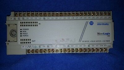 Allen Bradley 1761-L32Bwb Ser.d Frn 1.0 In Used Working Cond. No Doors