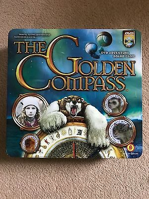 Golden Compass DVD Adventure Board Game in Tin Box - new