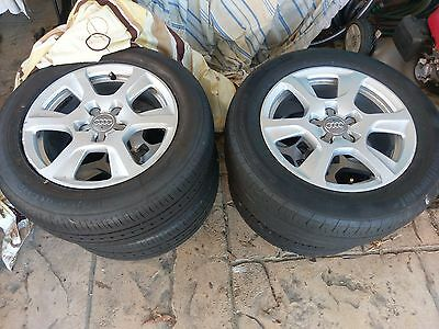 Audi A4 Genuine Wheels Rims Tyres 255 55 R16 VW