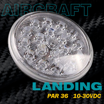 "LED Landing/Taxi Light for Aircraft ""Spot Type"" Par-36"