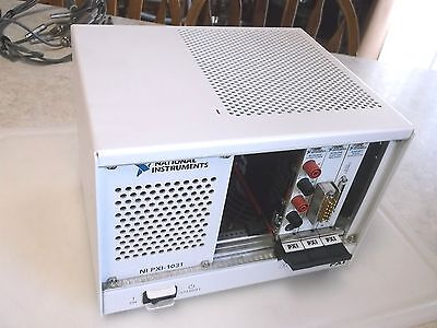 National Instruments Test Station PXI-1031 & 3 Cards PXI-4070 PXI-2586 PXI-6221