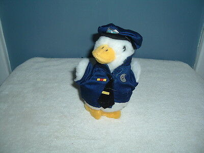 Police Cop Officer Aflac Duck Six Inches New Advertising