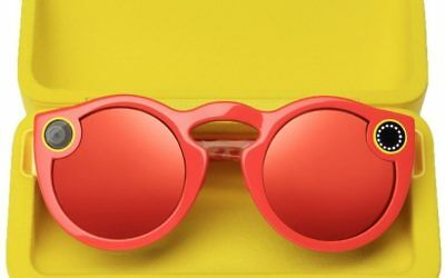 Snapchat Spectacles Take snaps now, perfect for streaks (CORAL)