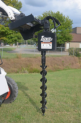 "Bobcat Skid Steer Attachment Lowe 750 Round Auger Drive with 4"" Bit - Ship $199"