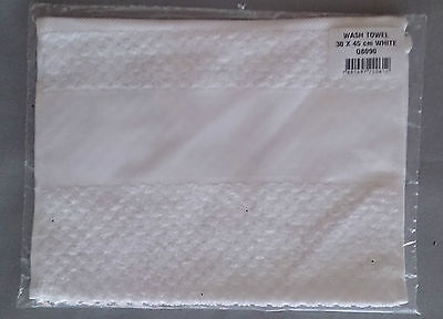Wash Towel with even weave insert for cross stitch 30 x 45cm