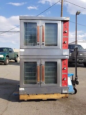 Vulcan V6Ed-12 Double Stack Commercial Oven