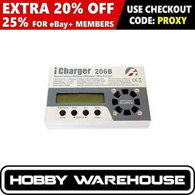 iCharger 206B 20A Synchronous Balance Charger / Discharger