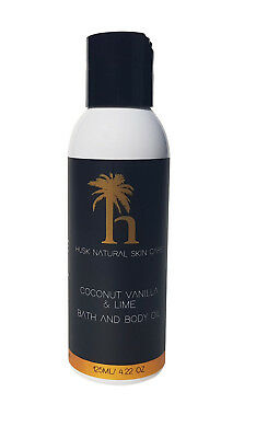 Coconut Oil With Lime & Vanilla 100% Natural Ingredients For Bath And Body