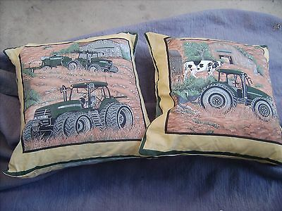 International Tractor       One Pair Of Cushion 40  Cm / 16 Inches