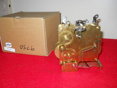 '87 Franz Hermle 340-020  8 Day 2 Jewel Westminster Chime Movement, Factory Box