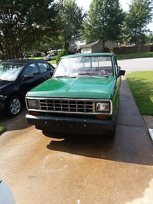 """1986 Ford Ranger Base 1986 Ford Ranger 2WD, Six foot Bed, """"No Reserve"""""""