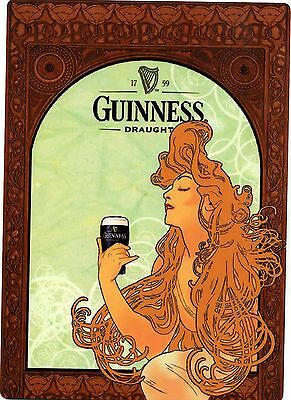 Guinness Draught Vintage Art Design METAL Beer Sign
