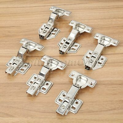 6 Size Soft Close Metal Hydraulic Hinges Cabinet Cupboard Furniture Door Hinges
