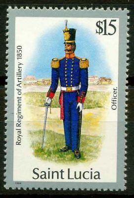 Saint Lucia 1985 SG 811 MNH 100% Military Uniforms