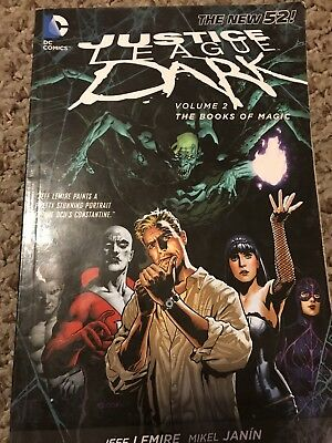 Justice League Dark - The Books of Magic Vol. 2 by Jeff Lemire and Peter...