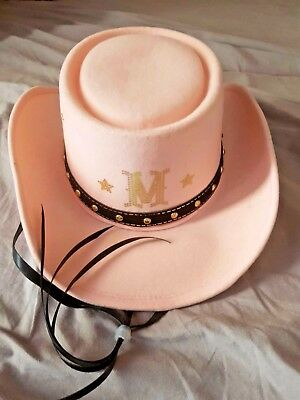 Madonna Pink Cowboy Promo 'music' Hat  * Only 200 Made * Rare
