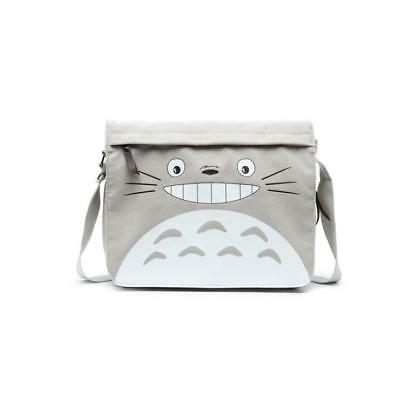 Neu Anime My Neighbor Totoro Segel canvas Messenger Tasche Bag 30x28x9CM