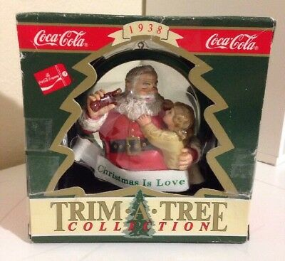 Coca Cola Trim-A-Tree Collection: Christmas Is Love!