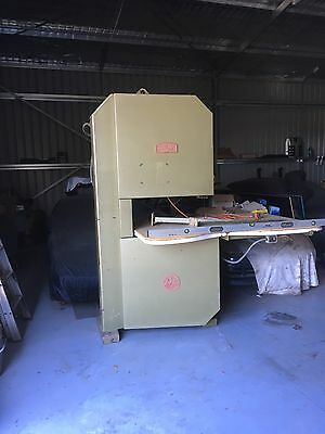 Large Industrial Bandsaw