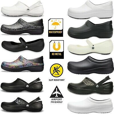 Crocs PRO Work Shoes clog Slip Resistant Slip-on No metall Nurse service shoe