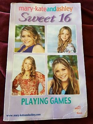Girls book/ novel... Mary-Kate and Ashley...Sweet 16 ... Playing Games