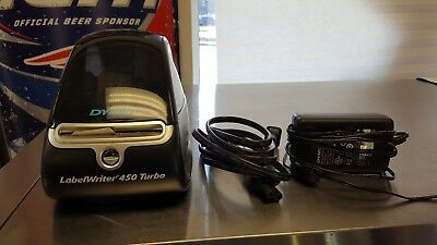 DYMO LabelWriter 450 Turbo Thermal Label Printer (1752265) 1750283