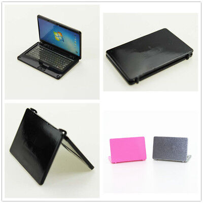 Dollhouse 1/12 Scale Miniature Scene Model Accessories Mini Laptop Cute Alloy