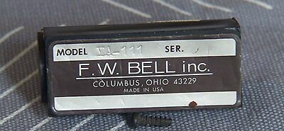 F.W. Bell Zero Gauss Chamber for calbrating Gaussmeter Magnetometer