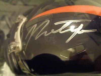 Paxton Lynch Signed NFL Denver Broncos Mini Helmet With COA NEW