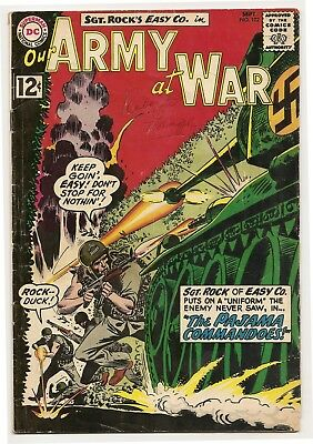 Our Army at War #122 (Sep 1962, DC)