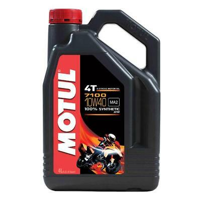 MOTUL 7100 10W 40 4 Litre - 4 stroke Engine Oil - 100% Synthetic with Ester