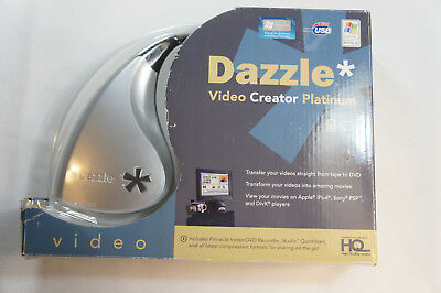 Dazzle Video Creator Platinum VHS To DVD