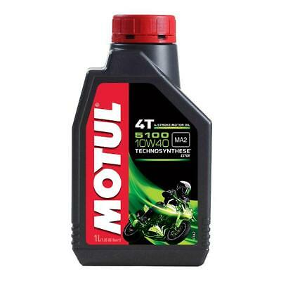 MOTUL 5100 10W 40 1 Litre - 4 stroke Engine Oil - TechnoSynthese with Ester