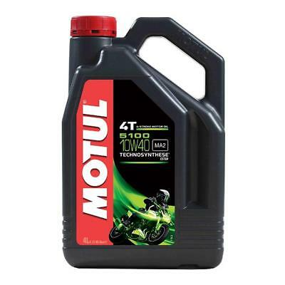 MOTUL 5100 10W 40 4 Litre - 4 stroke Engine Oil - TechnoSynthese with Ester