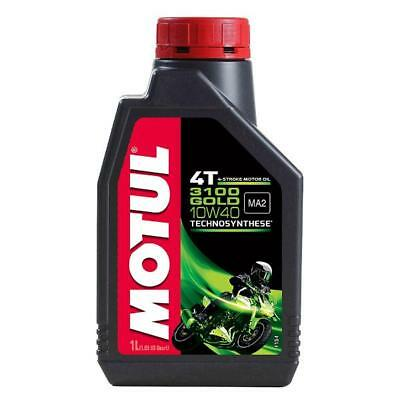 MOTUL 3100 GOLD 10W 40 1 Litre - 4 stroke Engine Oil - TechnoSynthese
