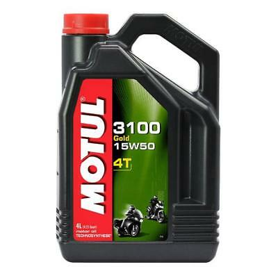 MOTUL 3100 GOLD 15W 50 4 Litre - 4 stroke Engine Oil - TechnoSynthese