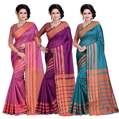 Bollywood Indian Pakistani Ethnic Designer Sari with Blouse Party Wear Saree
