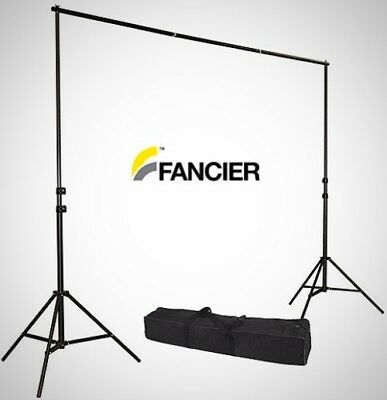Photography Photo Backdrop Stand Background Kit Studio Support Adjustable Feet