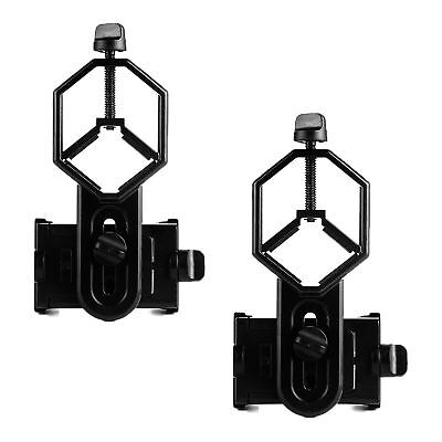 2XUniversal Telescope Cell Phone Mount Adapter for Monocular Spotting Scope AU